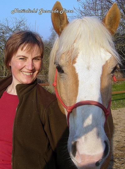 Michaela Wegner mit Pferd Nandoon